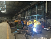 Chain Parts Welding Area