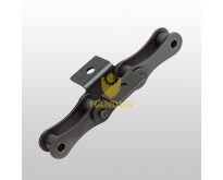 Double Pitch Roller Chains-Attachments