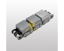 Roller Chain With Vulcanized Elastomer Profile
